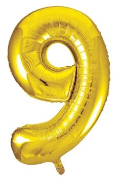 Giant Helium Number 9 - Gold