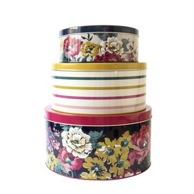 Joules Cake Tins Nest 3