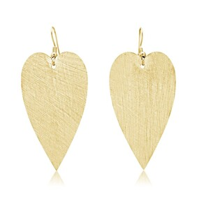 Amour Large Earrings - Yellow Gold