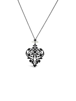 Sucree with Mother of Pearl Necklace - Black