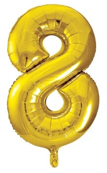 Giant Helium Number 8 - Gold
