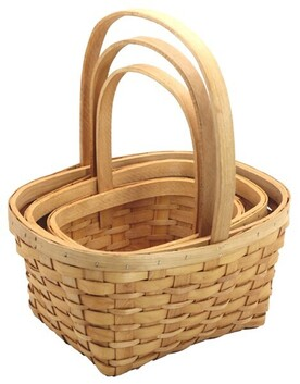 Rectangle Weaved Basket - Small
