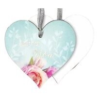 Heavenly Rose Gift Tag - Just For you