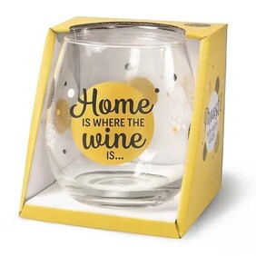 Home Is Where Stemless Glass