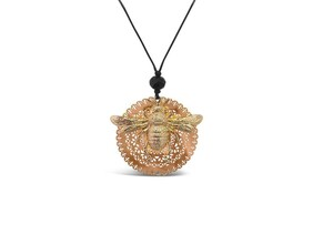 Bee You Large Necklace - Gold
