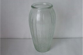 Tall Glass Vase - Clear