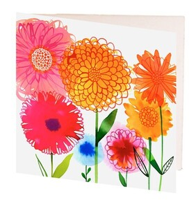 Bright Flowers Gift Card