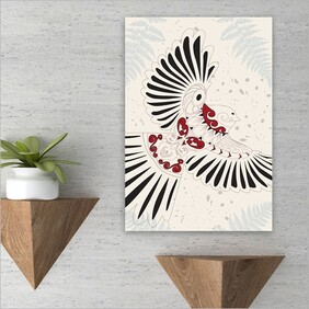 Large Printed Rectangle - Fantail