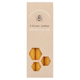 Beeswax Candles Set 3