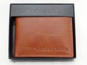 Leather Wallet NV45 - Tan