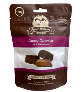 Chewy Caramels in Milk Chocolate