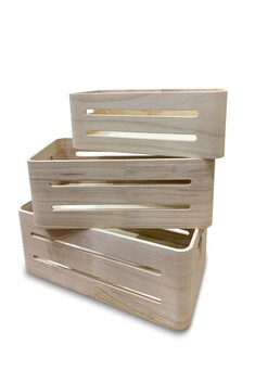 Rectangle Wooden Gift Box - Small