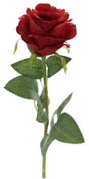 Artificial Single Red Rose