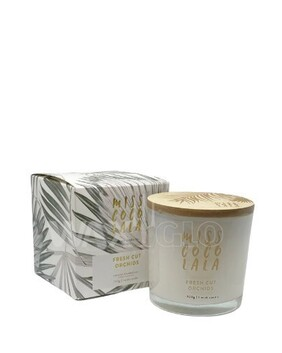 Miss Coco Lala Coconut Wax Jar Candle- Fresh Cut Orchids