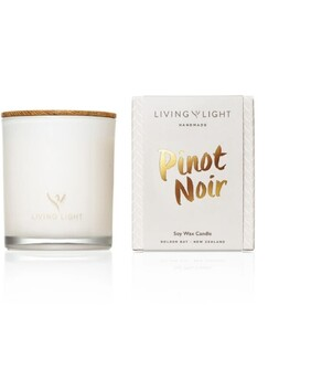 Living Light Pinot Noir Soy Candle