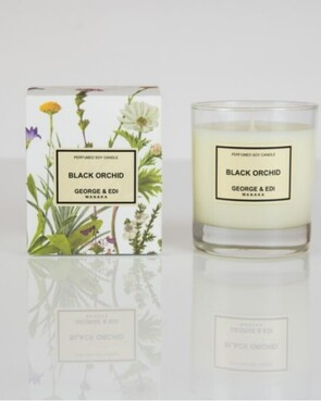 George & Edi Candle | BLACK ORCHID