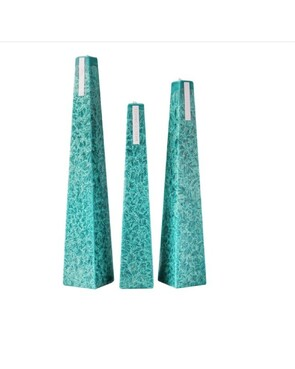 Living Light Ocean Sage Icicle Candles