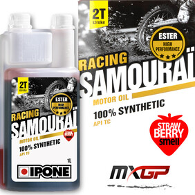 Samourai Racing^Scented 1L 100% Synthetic Ester Ipone