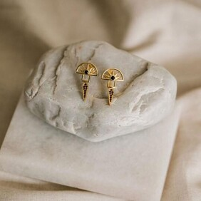 Silver Linings Collective - Horizon Earrings - Gold