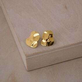 Republic Road - Marvel Studs Gold Plate