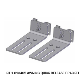 ARB AWNING BRACKETS QUICK RELEASE