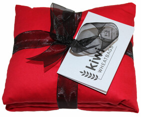 Red Cotton Wheat Bag