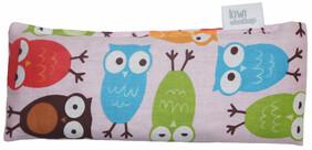 Owls Pink Mini Cotton Wheat Bag