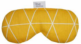 Triangles Yellow Eye Wheat Bag