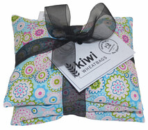 Funky Flowers Cotton Wheat Bag