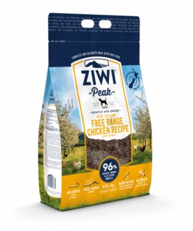 ZIWI Peak Air-Dried Free-Range Chicken Recipe for Dogs - 454gm