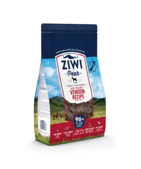 ZIWI Peak Air-Dried Venison Recipe For Dogs - 454gm