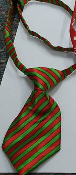 Christmas Neck Tie Candy Cane