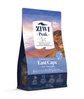 ZIWI Peak Air-Dried East Cape Recipe for Dogs - 140gm