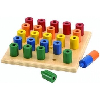 Peg and Stack Board