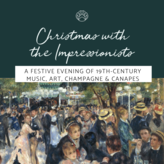 13 Dec | French Christmas: An evening of 19th-c live music, art, champagne & canapés