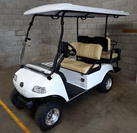 Express 2+2 four seat cart with Lithium Battery