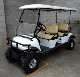 Express Lifted 4 Seat Cart with Lithium Battery