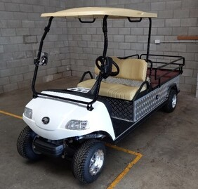 Flatbed Electric Vehicle with Lithium Battery
