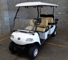 Express 4+2 Six seat Cart with Lithium Battery