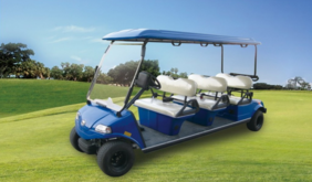 HDK 6 Six Person Cart with all seat facing forward