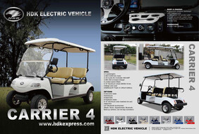 Express 4 seat Golf Cart with Lithium Battery