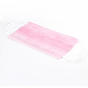 Disposable Mask Pink 50 pack