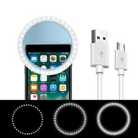 Ring Light – phone w/USB rechargeable cord