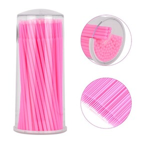 Microbrush 100 pack Pink - CLEARANCE