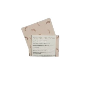 Lash After Care Card - Type 1