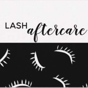 Lash After Care Card - Type 2