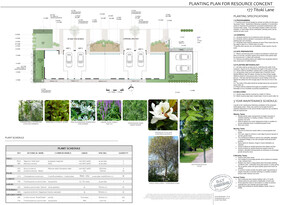 Planting Plans for Resource Consent