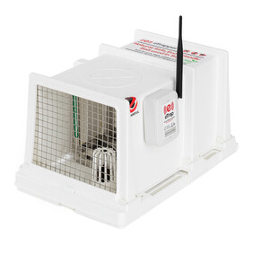 eTrap with DOC 200 stainless trap and housing - for rats and stoats
