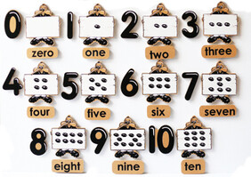 Counting Set - English 33pc Magnetic