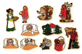 Little Red Riding Hood Magnetic